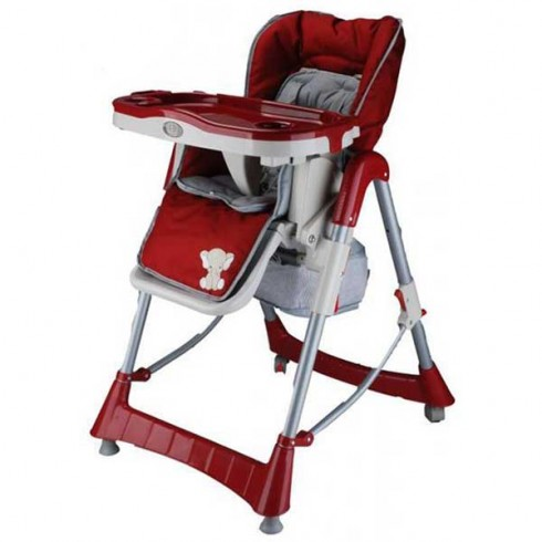 Scaun de masa BabyGo Tower Maxi red