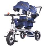 Tricicleta gemeni Chipolino 2Play navy {WWWWWproduct_manufacturerWWWWW}ZZZZZ]