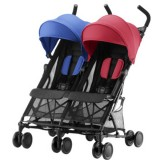 Carucior Britax Holiday red blue