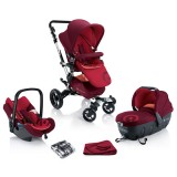 Carucior Concord Neo Travel Sleep lava red