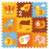 Covoras de joaca Knorrtoys Animals puzzle