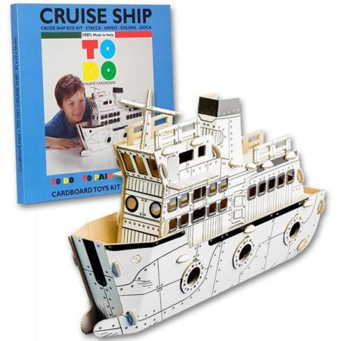 Joc creativ Todo 3D Cruise Ship