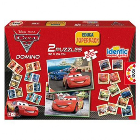 Joc Educa Cars 3 in 1