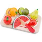 Jucarie New Classic Toys Platou cu fructe