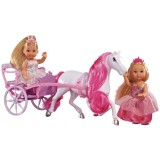 Set Simba Evi Love Romantic Carriage cu 2 papusi 12 cm si caleasca {WWWWWproduct_manufacturerWWWWW}ZZZZZ]