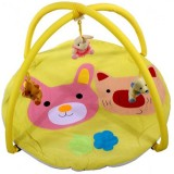 Covoras de joaca Arti B694537 Pig Rabbit Toys yellow