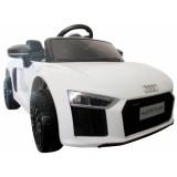 Masinuta electrica R-Sport Audi R8 alb