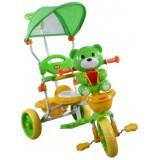 Tricicleta cu copertina Arti 290c verde