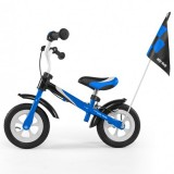 Bicicleta fara pedale Milly Mally Dragon Deluxe blue