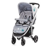 Carucior Baby Max Onyx 2 in 1 cu landou train grey