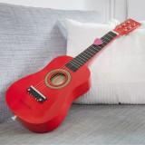Chitara din lemn New Classic Toys rosu