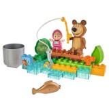 Set constructie Big Masha and the Bear Go Fishing 29 piese {WWWWWproduct_manufacturerWWWWW}ZZZZZ]