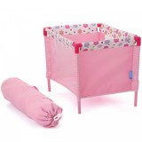 Tarc pentru papusi Hauck Doll Play Yard Spring Pink
