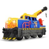 Locomotiva Dickie Toys Cargo 75-02 cu sunete si lumini