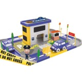 Statie politie Ucar Toys 46 piese