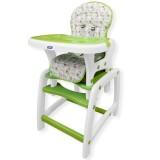 Scaun de masa Juju Eat&Play verde