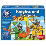 Joc educativ Orchard Toys Cavaleri si Dragoni