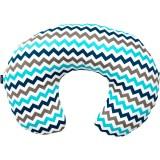 Perna de alaptat Womar Comfort Exclusive 140 cm albastru gri