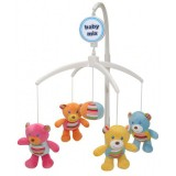 Carusel muzical Baby Mix Bears Gang