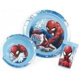 Set de luat masa Lulabi 3 piese Spiderman