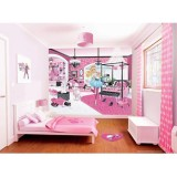 Tapet Walltastic Barbie my fab designer