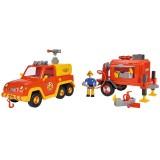 Masina de pompieri Simba Fireman Sam Venus cu remorca, figurina si accesorii {WWWWWproduct_manufacturerWWWWW}ZZZZZ]