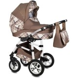 Carucior Vessanti Flamingo Easy Drive 3 in 1 brown