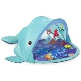 Covoras de joaca Bright Starts Explore & Go Whale