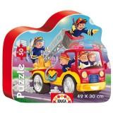 Puzzle Educa Masina de pompieri