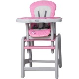 Scaun de masa Coto Baby Stars roz