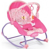 Scaunel balansoar Baby Mix Beverly pink