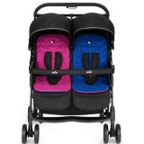Carucior Joie Aire Twin pink blue
