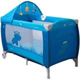 Patut pliabil Coto Baby Samba Lux albastru