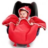 Sac de dormit Wallaboo Coco Fun chicky red