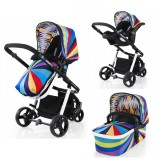 Carucior Cosatto Giggle 3 in 1 go brightly