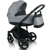 Carucior Bexa D angela 3 in 1 grey black