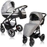 Carucior Vessanti Crooner Prestige 2 in 1 gray