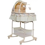 Cos si leagan Moni Bassinet Nap 3 in 1 green