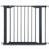 Poarta de siguranta Hauck Close'n Safe cu extensie 7 cm charcoal