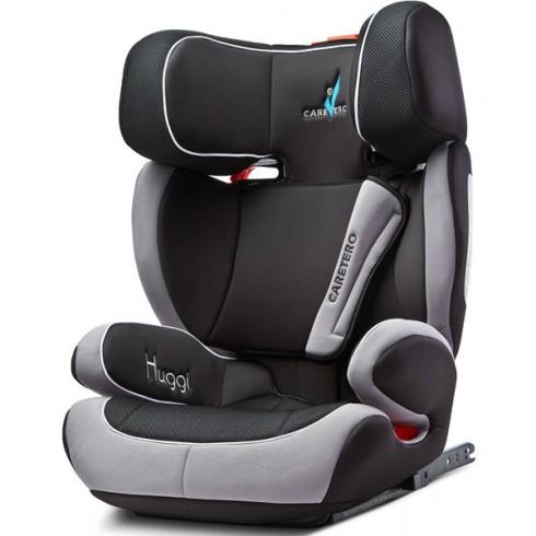 Scaun auto Caretero Huggi cu sistem Isofix black (