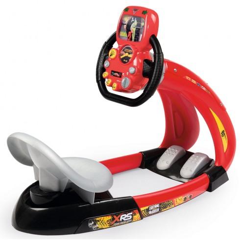 Simulator auto Smoby Cars 3 V8 Driver cu suport pentru telefon {WWWWWproduct_manufacturerWWWWW}ZZZZZ]