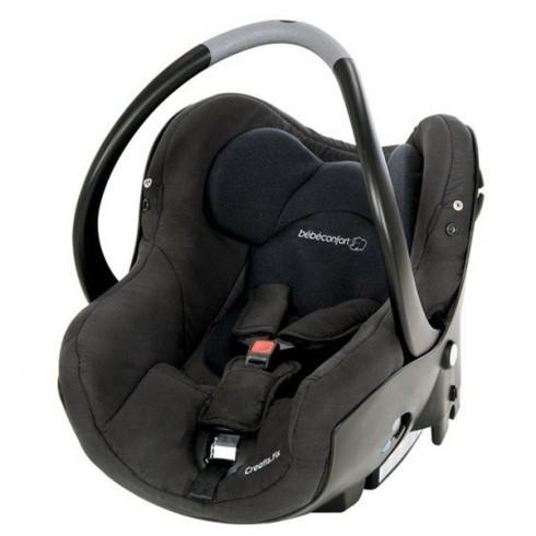 Scaun auto Bebe Confort Creatis Fix total black
