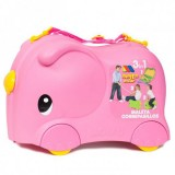 Valiza Molto Ride-on Elephant 3 in 1 roz