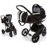 Carucior Volkswagen Carbon Optik Knorr-Baby 2 in 1 black