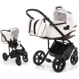Carucior Volkswagen Carbon Optik Knorr-Baby 2 in 1 white
