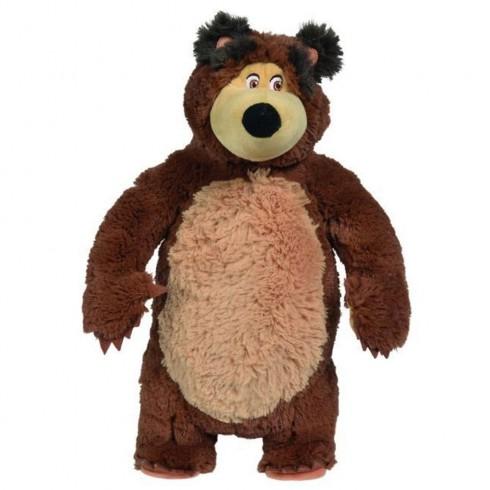 Jucarie de plus Simba Masha and the Bear, Bean Bag Bear 40 cm {WWWWWproduct_manufacturerWWWWW}ZZZZZ]
