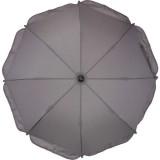Umbreluta parasolara pentru carucioare Fillikid 72 cm grey