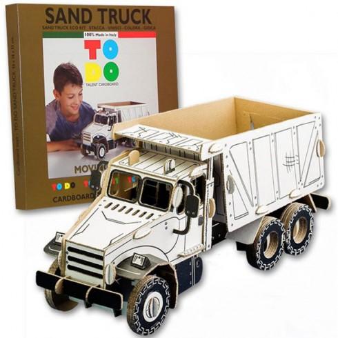 Joc creativ Todo 3D Sand Truck