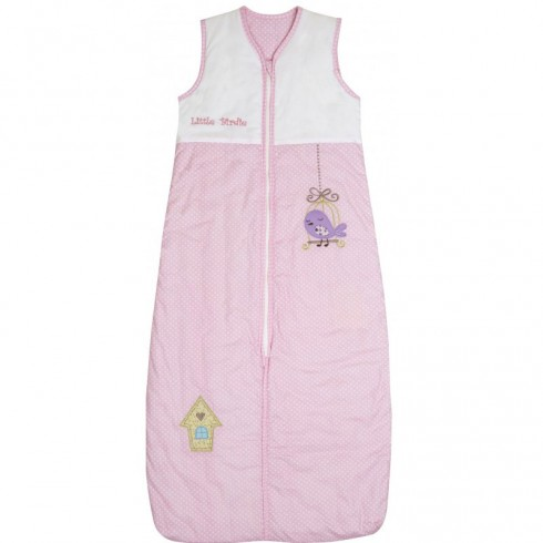 Sac de dormit Slumbersac Pink Bird 3-6 ani 2.5 Tog