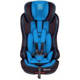 Scaun auto BabyGo Iso cu Isofix blue